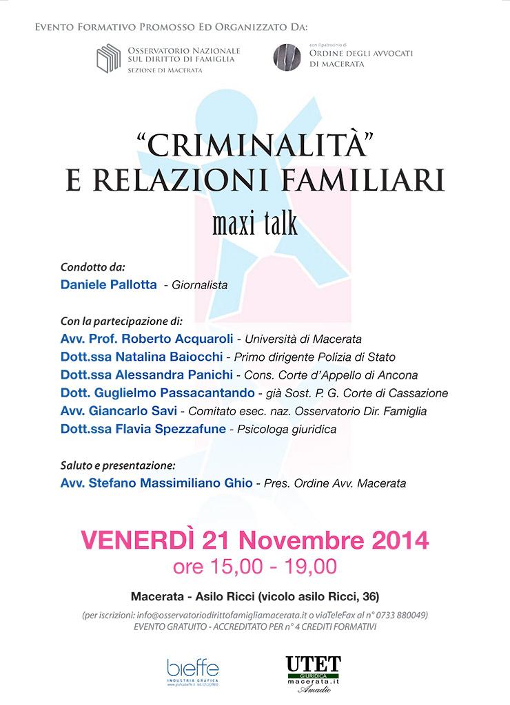 Roma, 3 novembre 2014